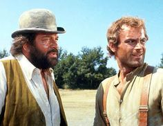 Bud Spencer et Terence Hill Bud Spencer Terence Hill, Mario, Tv Westerns, Western Movies, My Passion, I Movie, I Laughed, Actors & Actresses, Photos