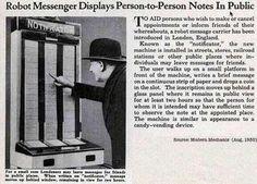 Twitter, circa 1935.