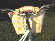 Ilsa Handlebar Basket Pattern by HemmaDesignPatterns on Etsy