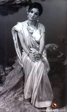 Back then, Sharmila Tagore. Until now beautiful, classy and graceful.