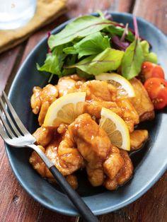 鶏のレモン煮 Asian Recipes, Healthy Recipes, Ethnic Recipes, Healthy Food, I Love Food, Chicken Recipes, Food Porn, Food And Drink, Cooking Recipes