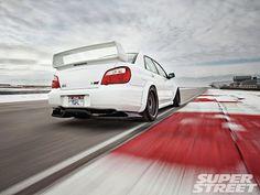 Lindo este Subaru WRX STi 2005