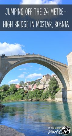 Jumping off the 24 metre-high bridge in Mostar, Bosnia, without a doubt one of the craziest things I've ever done. This really is a huge leap of faith!