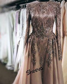 Hijab Evening Dress, Hijab Dress Party, Hijab Wedding Dresses, Prom Dresses With Sleeves, Wedding Dress Sleeves, Prom Party Dresses, Bridal Dresses, Evening Dresses, Couture Dresses