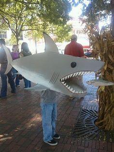 Costume fun with cardboard boxes! #halloween2013