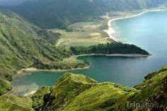 Fotka, Foto Azory, ostrov Sao Miguel, jezero Lagoa do Fogo (Portugalsko), Azores, Portugal
