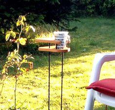 Good Ideen f r den Garten Mini Tisch f r jede Gelegenheit im Garten