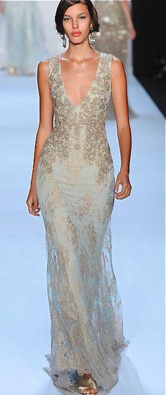 Badgley Mischka   *  Dress like a goddess