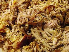 This is THE BEST pulled pork I've ever made! Slow Cooker Pork, Slow Cooker Recipes, Crockpot Recipes, Cooking Recipes, Ribs, Bbq Pork, Pork Rub, Shredded Pork, Pulled Pork Recipes