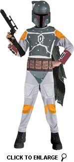 Star Wars Kids Boba Fett Costume