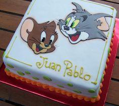 tom and jerry cartoon birthday cake ideas - Google Search