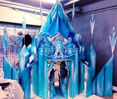 Frozen Birthday Theme, My Little Pony Birthday, Frozen Theme, Frozen Party, Unicorn Birthday Parties, Frozen Musical, Frozen Movie, Disney Frozen Castle, Elsa Castle
