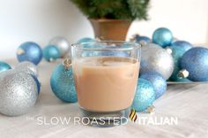 Slow Roasted Italian (Nutcracker) 2 ounces Absolut vodka 2 ounces DiSaronno amaretto 2 ounces Bailey's Irish Cream 2 ounces Kahlua coffee liqueur Mix ingredients with ice in shaker, strain into glass. Absolut Vodka, Vodka Cocktails, Cocktail Drinks, Martinis, Alcoholic Drinks, Bar Drinks, Yummy Drinks, Beverages, Refreshing Drinks