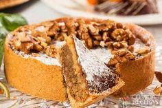 Receita de Torta sofisticada de nozes - Comida e Receitas