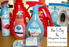 If you are having some financial issues, but don't really want to coupon for food, consider couponing for your other necessities. The drugstore game can help you save big money on your paper products, your health and beauty products and your cleaning products.