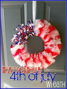 An easy wreath