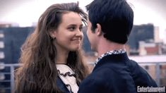 Katherine Langford and Dylan Minnette cute + funny moments (Thirteen Reasons Why) 13 Reasons Why Memes, 13 Reasons Why Netflix, Thirteen Reasons Why, Disney Instagram, Instagram Girls, Vintage Makeup, Art Music, Funny Moments, Favorite Tv Shows