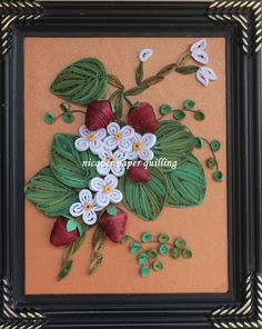by nicaber paper quilling