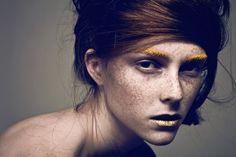 Beauty Makeup, Hair Makeup, Hair Beauty, Face Photography, Fashion Photography, Photography Ideas, Models With Freckles, Billy Kidd, Makeup Portfolio