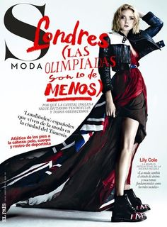 S Moda Magazine 16. June 2012 Lily Cole