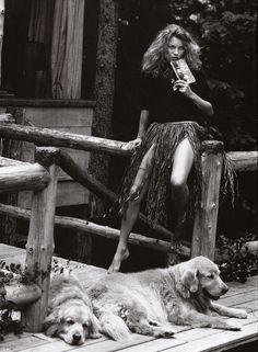 dog love // by bruce weber