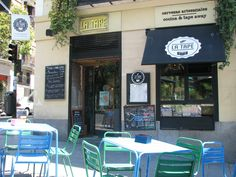 La Tape Madrid restaurante Madrid Restaurants, Outdoor Decor, Cooking, Home Decor, Tapas Bar, Good Life, Craft Beer, Viajes, Pretty