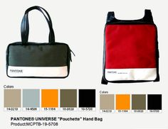 Pantone Handbags and Backpacks