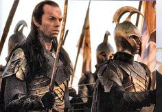 Lord Elrond in Battle (War of the Last Alliance)