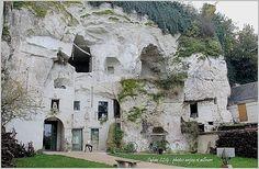 Turquant (Anjou) ... visite du village, église et vue des troglodytes