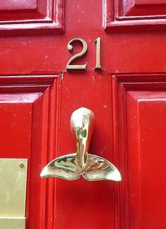 Charmant Whale Door Knocker