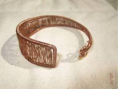 Armreif ::: VERKAUFT ::: kann auf Wunsch angefertigt werden - Bild vergrößern Handmade Wire Jewelry, Gold Rings, Bracelets, Wish, Bangle, Jewerly, Bracelet, Bangles, Arm Bracelets