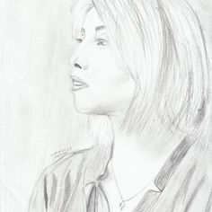 My drawing of Kirstin Maldonado <3