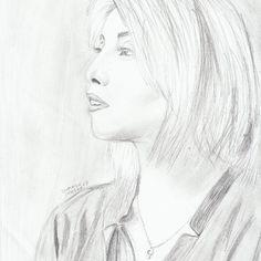 My drawing of Kirstin Maldonado <3