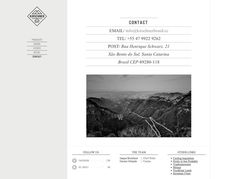 21 Inspiring Contact Pages. #grayscale #minimal