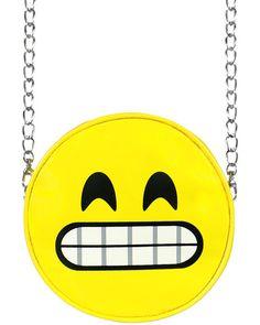 SMILEY EMOJI CHAIN BAG
