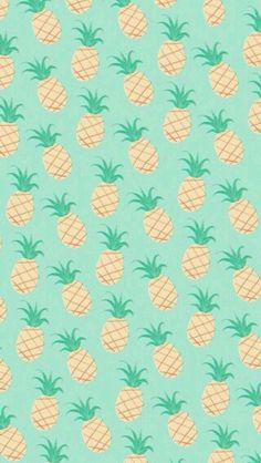 Pinneapple pattern girl wallpaper cute kawaii smartphone iphone galaxy