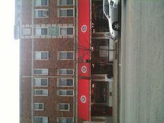 Outside RED 7 SALON Evanston 2012!