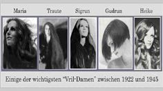 Maria Orsic and other women of the Vril Society (Vril Gesellschaft)