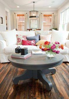 Floors, Table and White Sofa, beautiful!