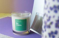 Lavender & Orange Blossom By Laura candle.