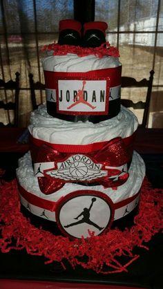 Air Jordan diaper cake