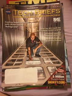 Tech Briefs Magazine march 2017 vol 41 No 3 March 2017 wwwtechbriefscom FS ENGINEERINetSOLU ONS FOR ESIGN MANUFACTURING uter Cooling Supercom INTERNATIONAL with Water-Saving  Refrigerator Enter the 2017 Create the uture Design Contest page 8 The Heavy Impact of Lightweight Materials SAE World Congress er Preview Access to r 5 Million Products Online DIGI KEY COM   https://nemb.ly/p/rJPgc4kog Happily published via Nembol