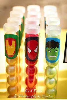 Avengers Dessert Table Ideas