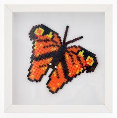 Schmetterling aus Bügelperlen von Tiger & Leopard
