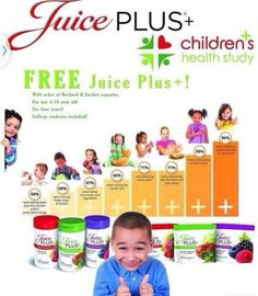 FREE Juice Plus+ for kids