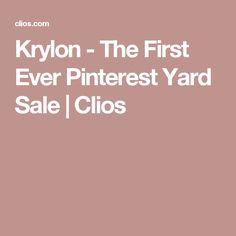 Krylon - The First Ever Pinterest Yard Sale | Clios