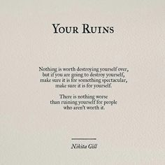 Your ruins