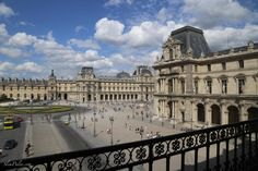 Louvre, Paris ~ Photo by Slim Paley  even though it was closed on tuesdays ;)