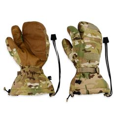 Swoop Mitt Shell (Multicam Non-FR) | Outdoor Research: A modular glove system developed for aviation and mechanized infantry; provides insulating warmth in extremely cold conditions at high altitudes and superior tactility for mechanical environments where precision is essential.