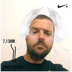 Treino com muito vento pela frente  Nem estas penas me ajudaram a voar  #runnersworldportugal  #runner #windrunner #3porsemana #newlifestyle